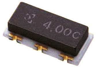 AVX PBRC5.00HR50X000, Ceramic Resonator, 5MHz, 3-Pin SMD, 7.4 x 3.4 x 2mm (10)