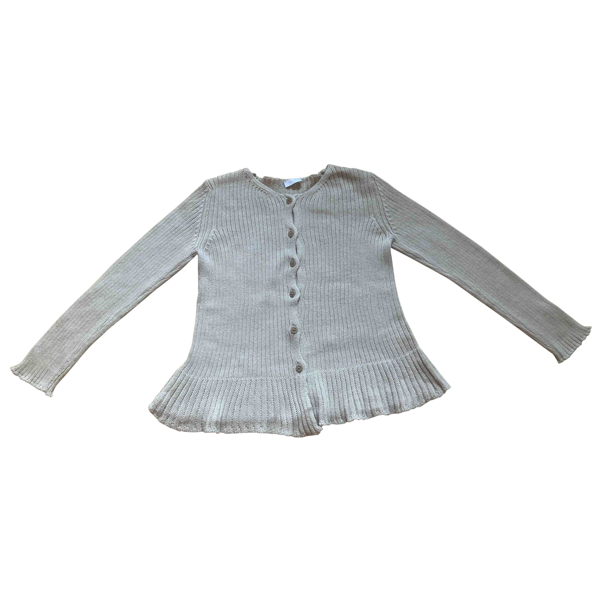 Il Gufo \N Ecru Cotton Knitwear for Kids 6 years - up to 114cm FR