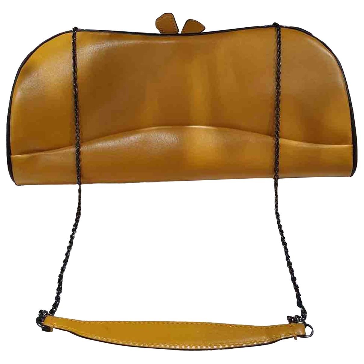 Prada \N Leather Clutch bag for Women \N