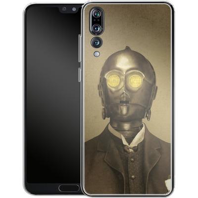 Huawei P20 Pro Silikon Handyhuelle - Baron Von 3PO von Terry Fan