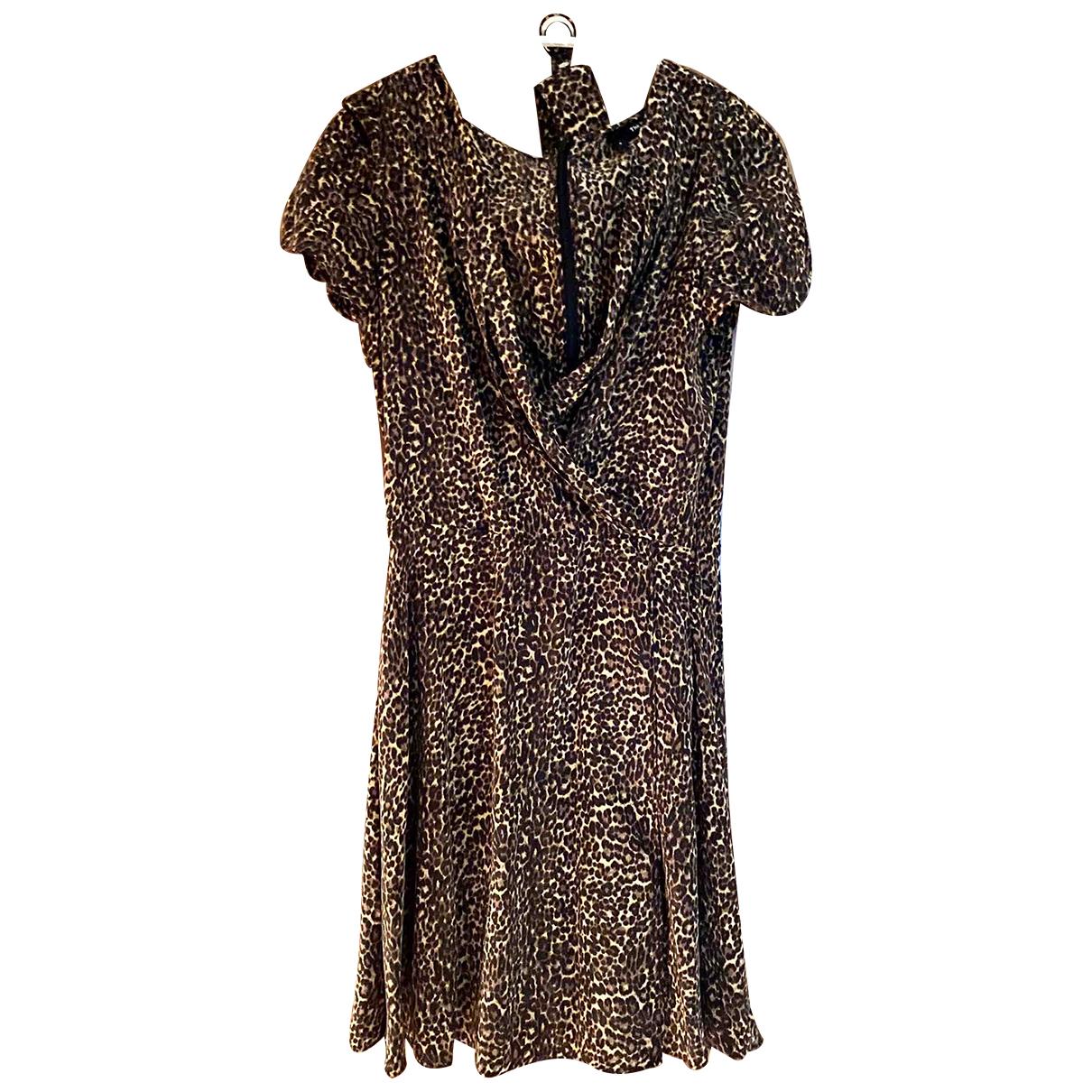 The Kooples N Multicolour Silk dress for Women 8 UK