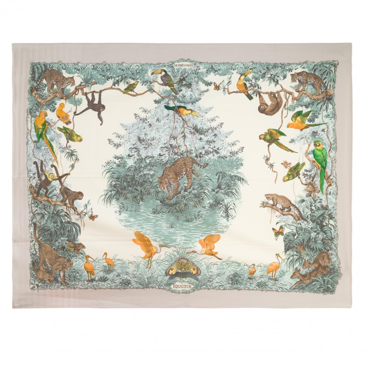 Hermès \N Beige Cashmere Textiles for Life & Living \N
