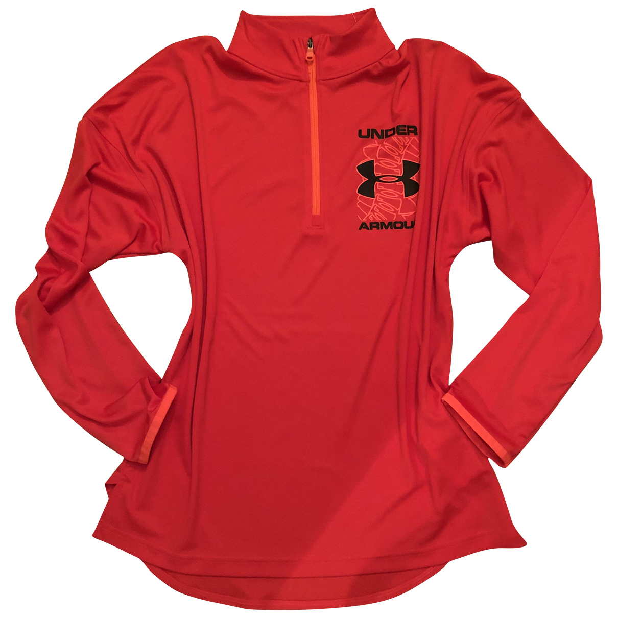 Under Armour \N Pullover in  Rot Polyester