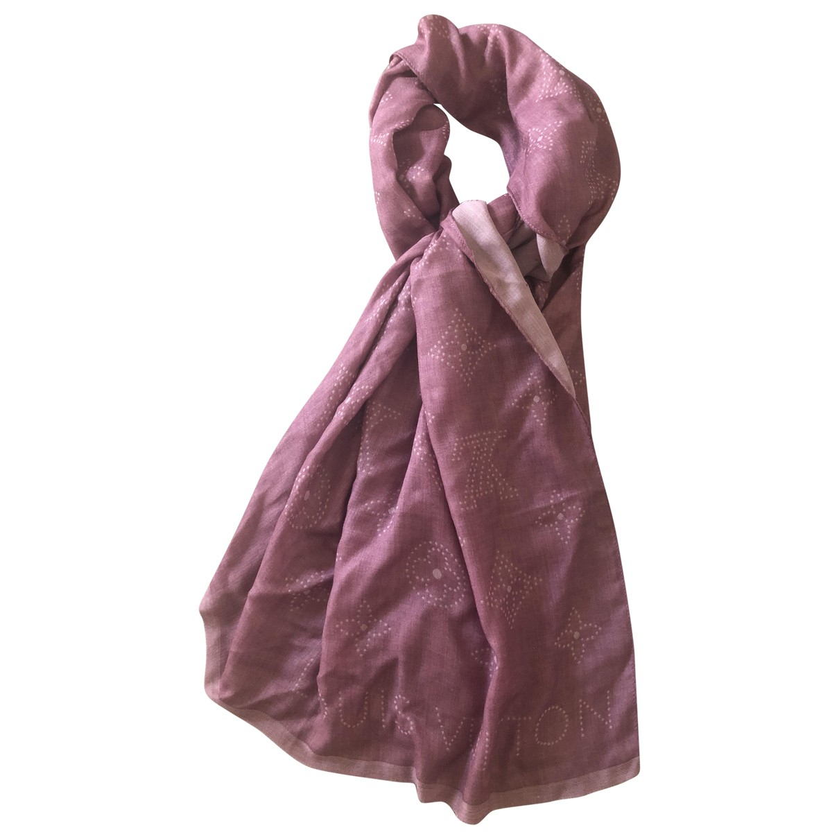 Louis Vuitton \N Pink Cashmere scarf for Women \N