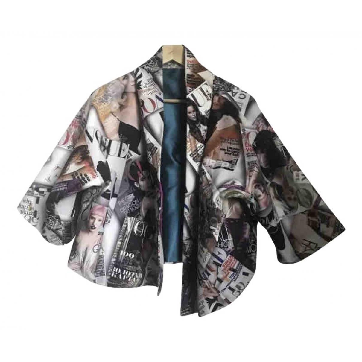 Vogue - Veste   pour femme en coton - multicolore