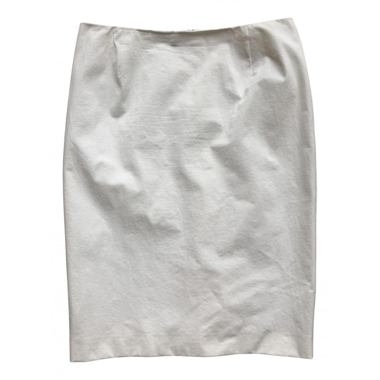 Jil Sander - Jupe   pour femme en coton - ecru