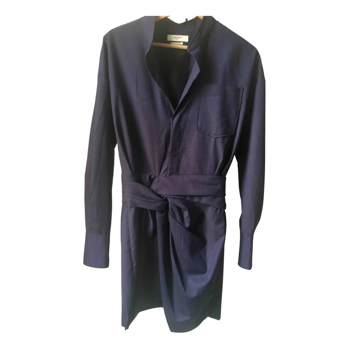 Isabel Marant Etoile N Navy Wool dress for Women 38 FR