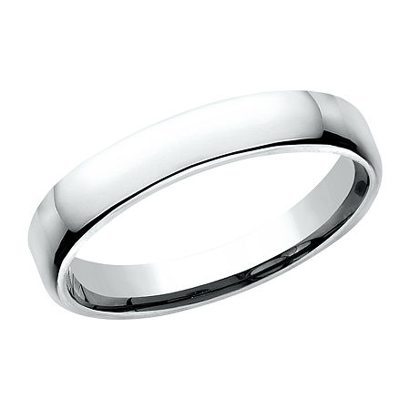 3.5MM 10K White Gold Wedding Band, 5 1/2 , No Color Family