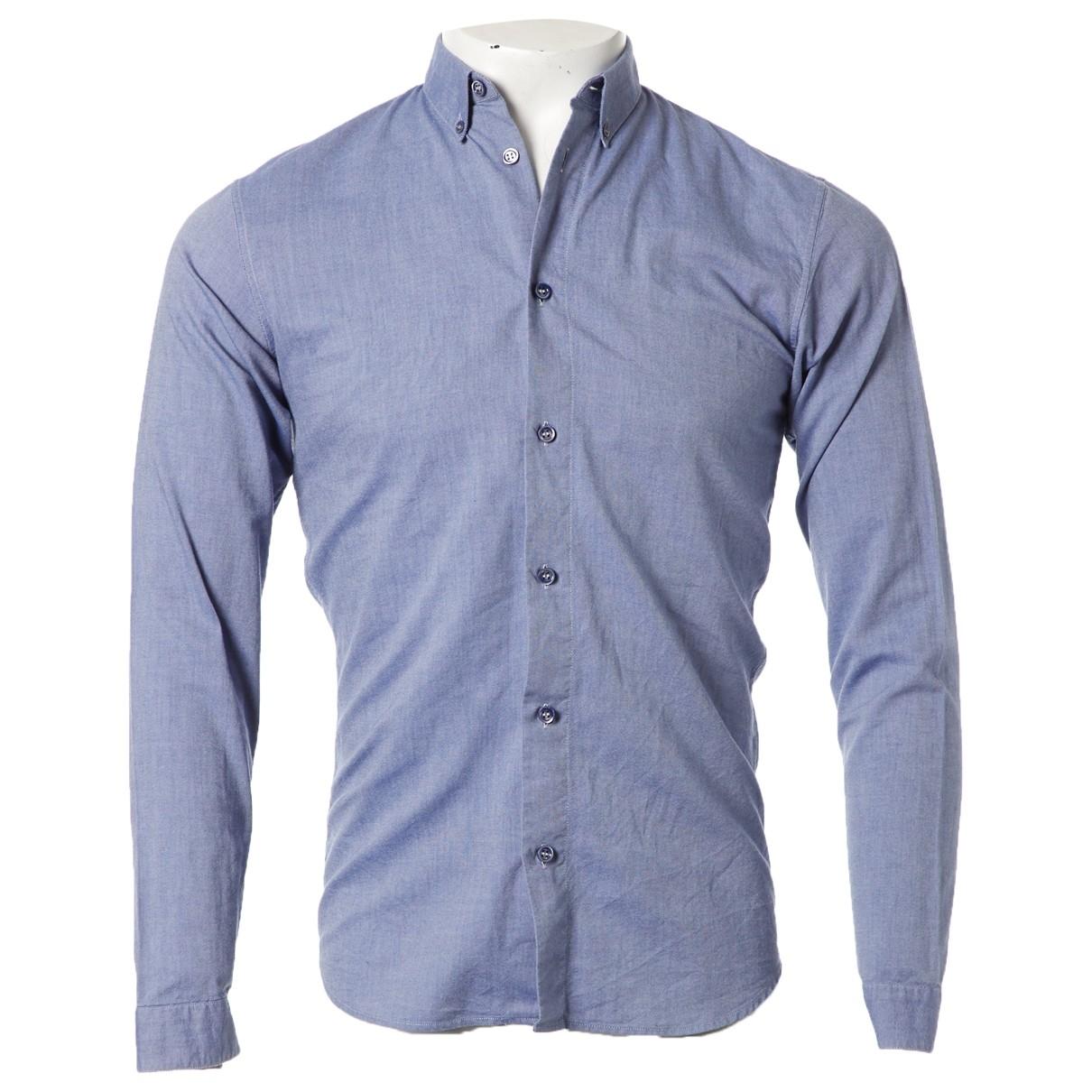 Dior Homme \N Hemden in  Blau Baumwolle