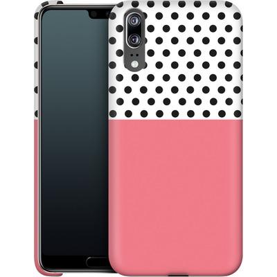 Huawei P20 Smartphone Huelle - Coral Dots von caseable Designs