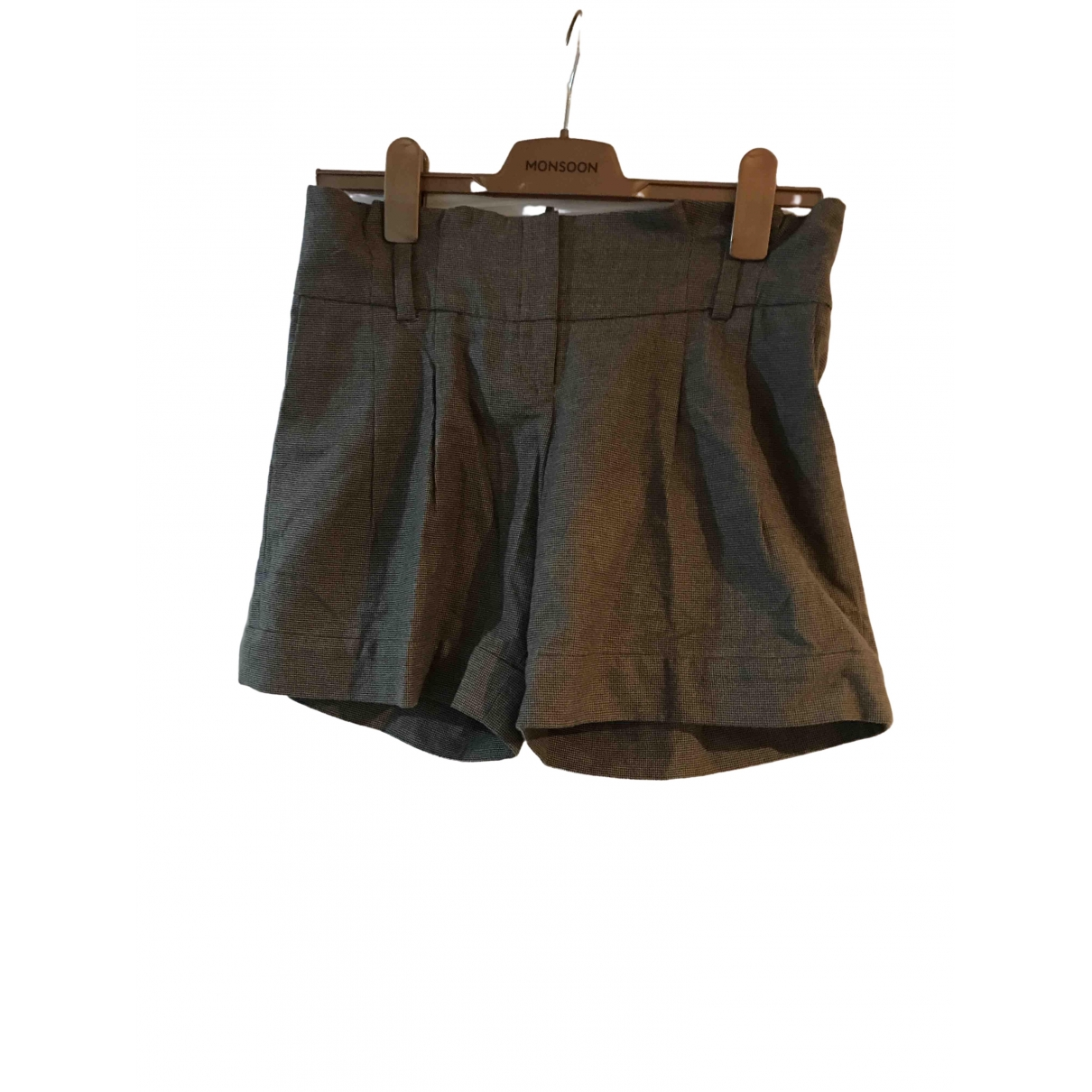 Chloe \N Shorts in  Braun Baumwolle
