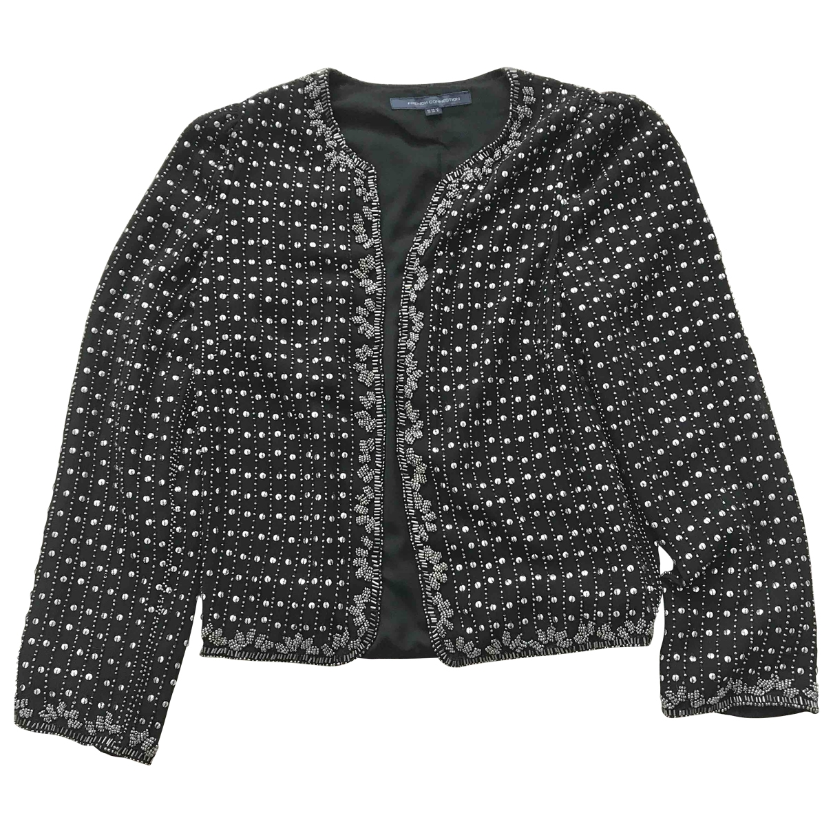 French Connection \N Black Glitter jacket for Women 38 FR