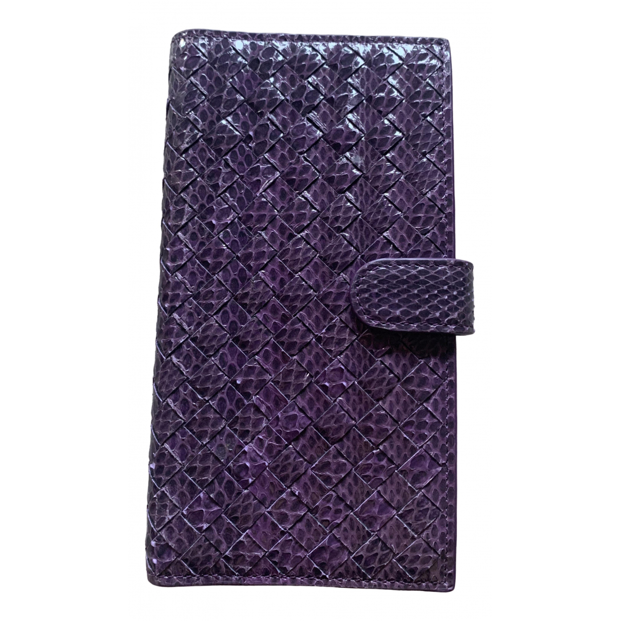 Bottega Veneta \N Purple Python Accessories for Life & Living \N