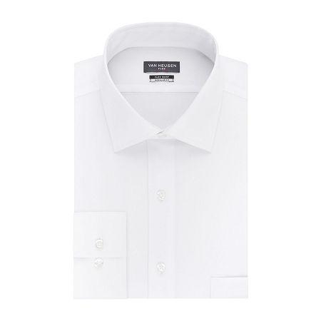 Van Heusen Flex Collar Dress Long Sleeve Shirt, 15 32-33, White