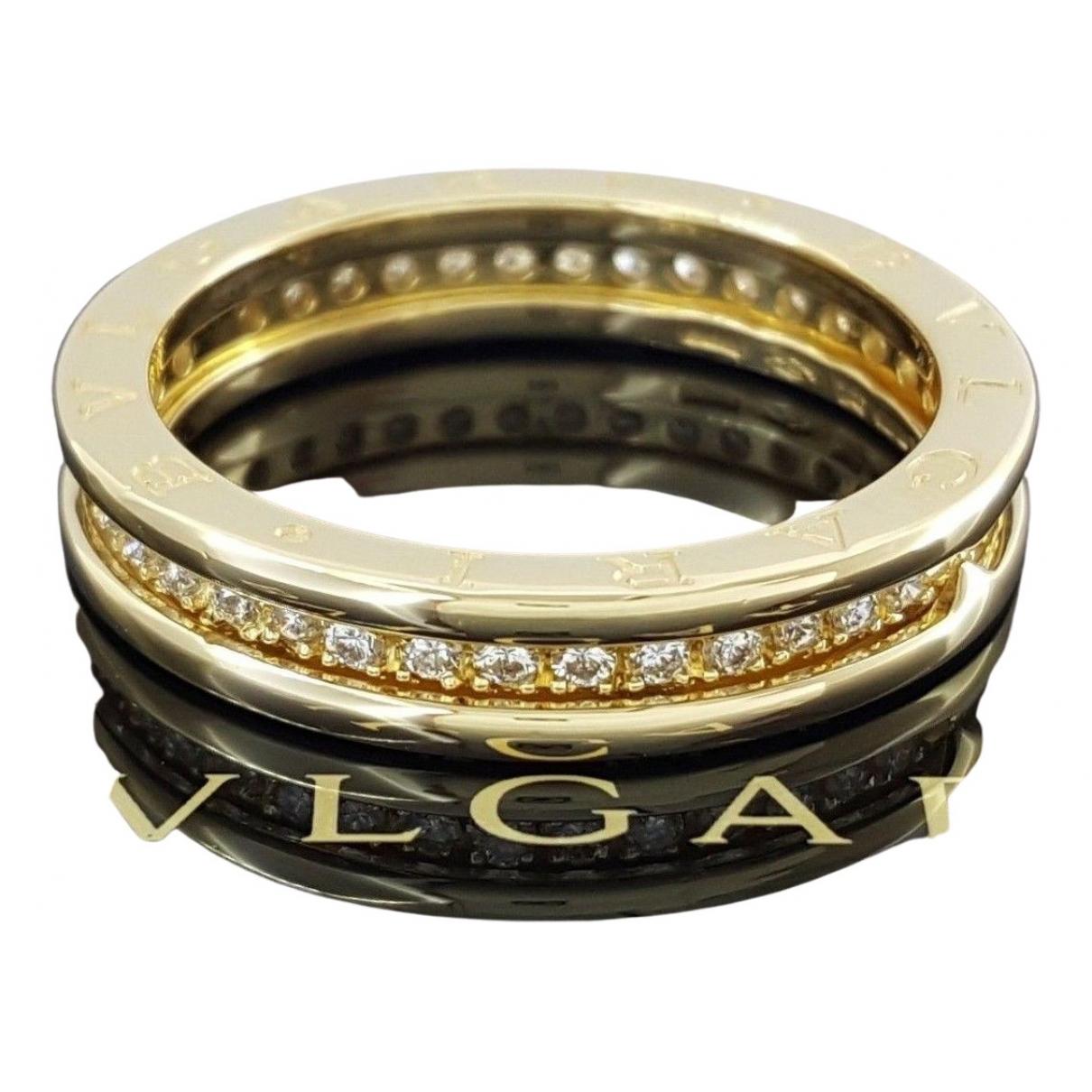 Bvlgari - Bague B.Zero1 pour femme en or blanc - jaune