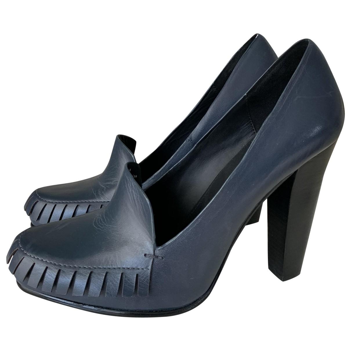 & Stories \N Blue Leather Heels for Women 39 EU