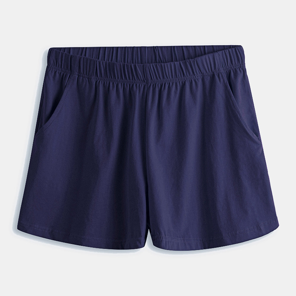 Cotton Arrow Pant Side Pocket Breathable Underwear Solid Color Boxer Briefs For Men