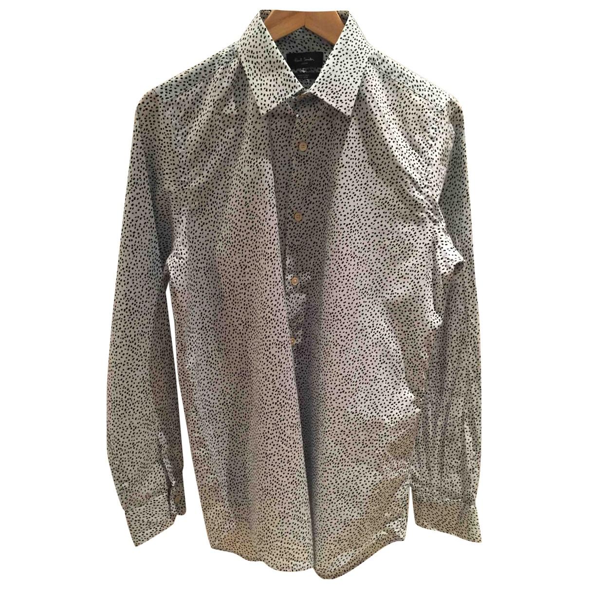 Paul Smith N Blue Cotton Shirts for Men 15.5 UK - US (tour de cou / collar)