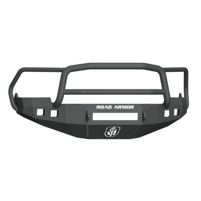 Road Armor Stealth Front Non-Winch Bumper with Lonestar Guard (Black) - 4091F5B-NW