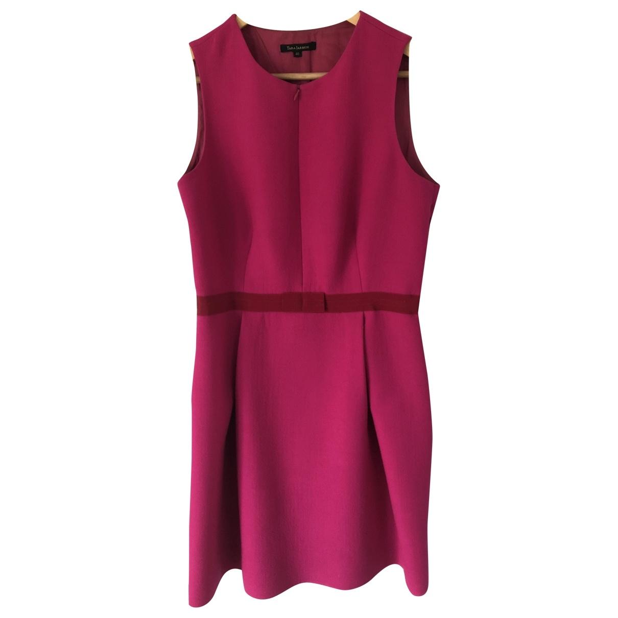 Tara Jarmon \N Kleid in  Rosa Wolle