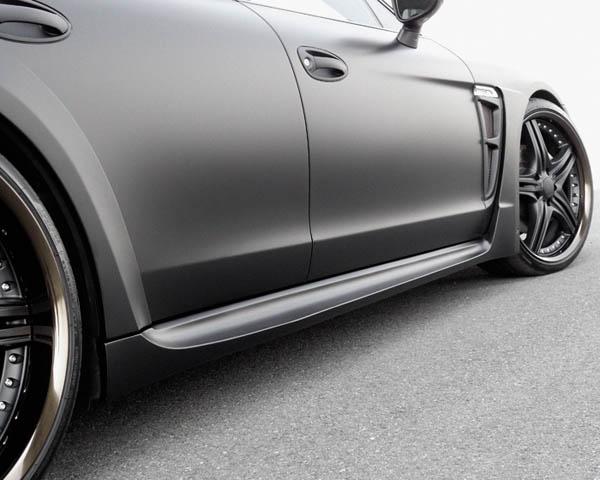 Wald International 970.BB.SS.10 Black Bison Side Skirt Set Porsche Panamera 10-13