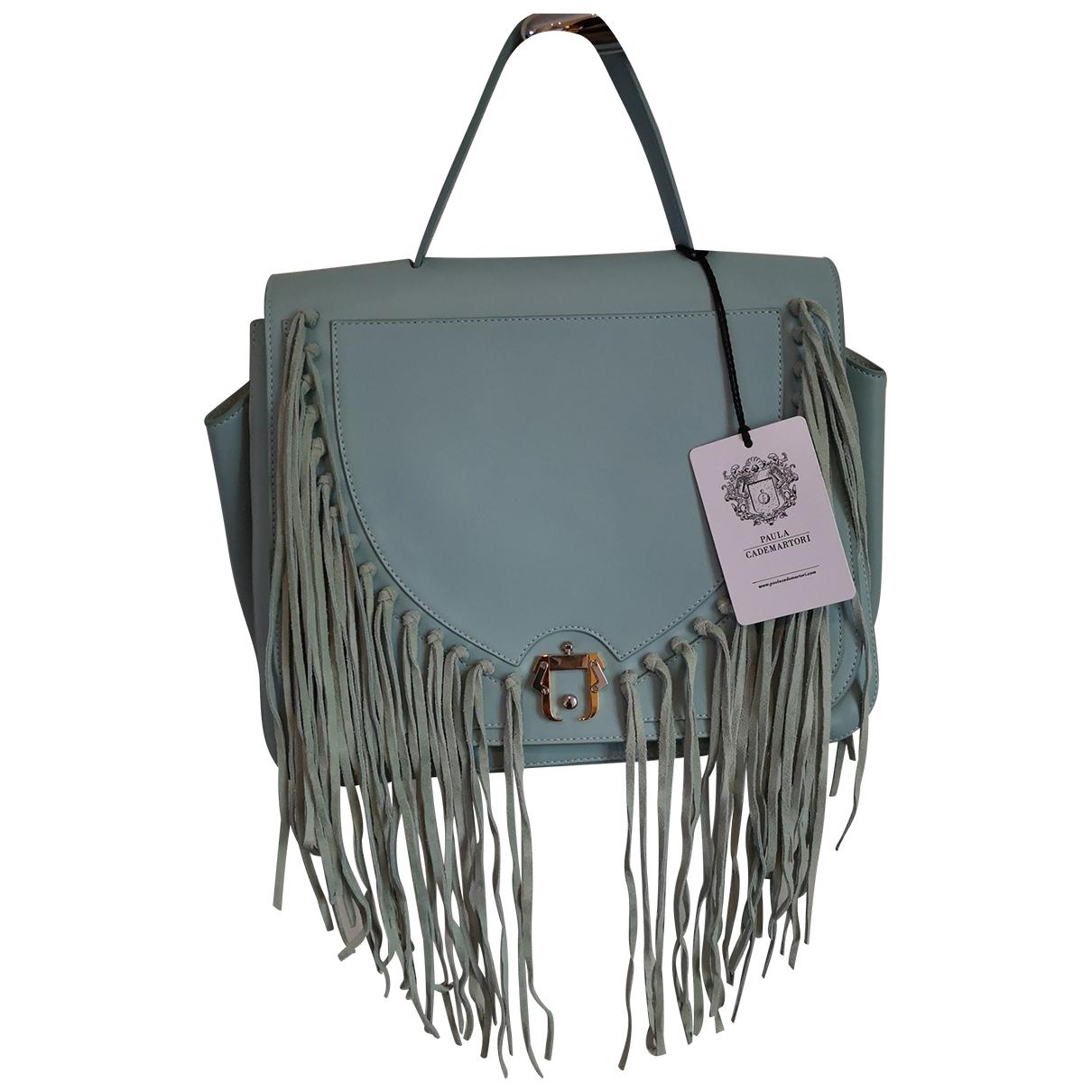 Paula Cademartori \N Blue Leather handbag for Women \N