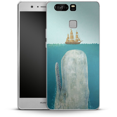 Huawei P9 Silikon Handyhuelle - The Whale von Terry Fan