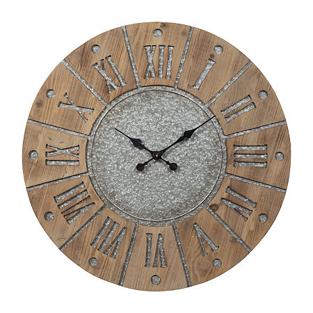 Signature Design by Ashley Payson Wall Clock, One Size , Gray