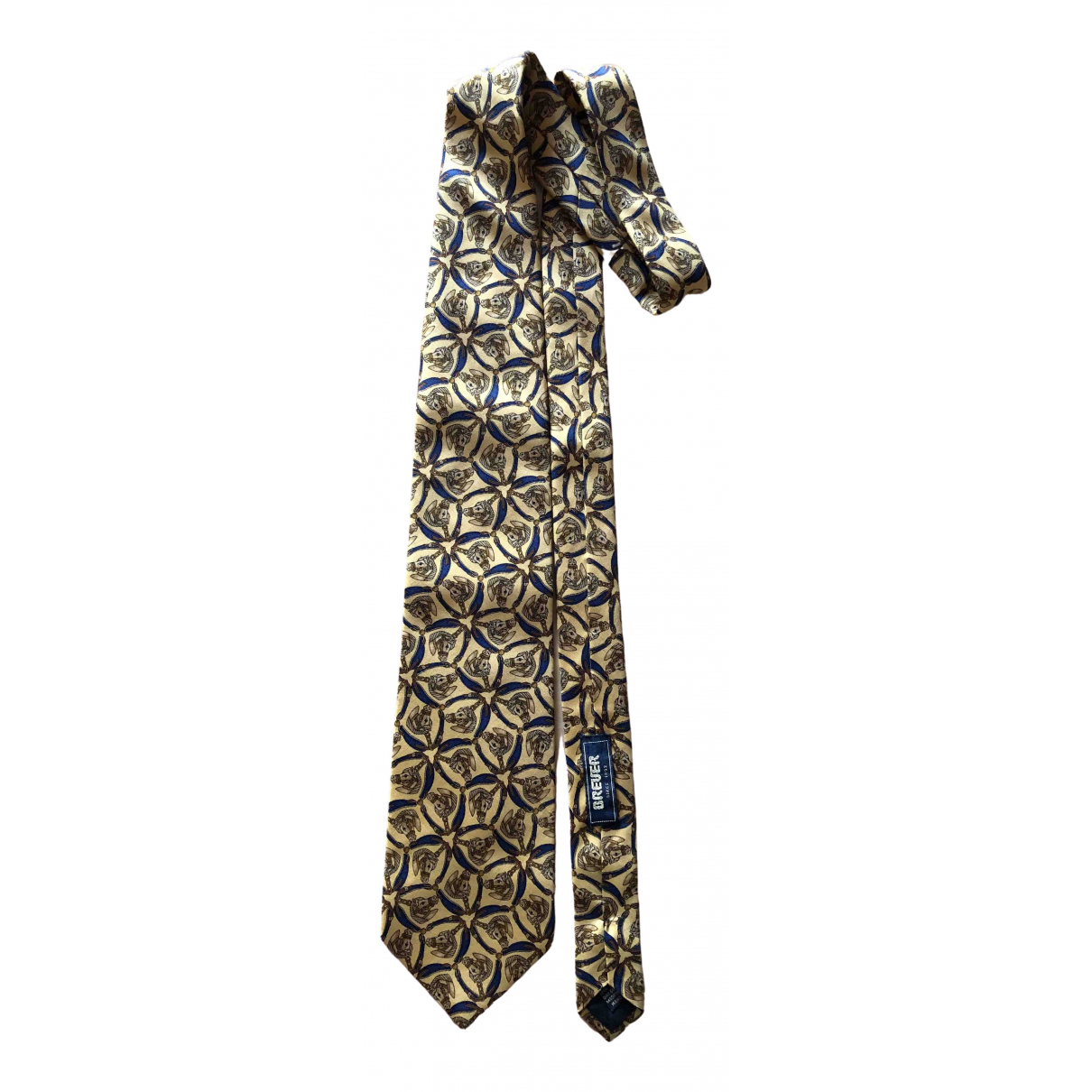 Breuer \N Silk Ties for Men \N
