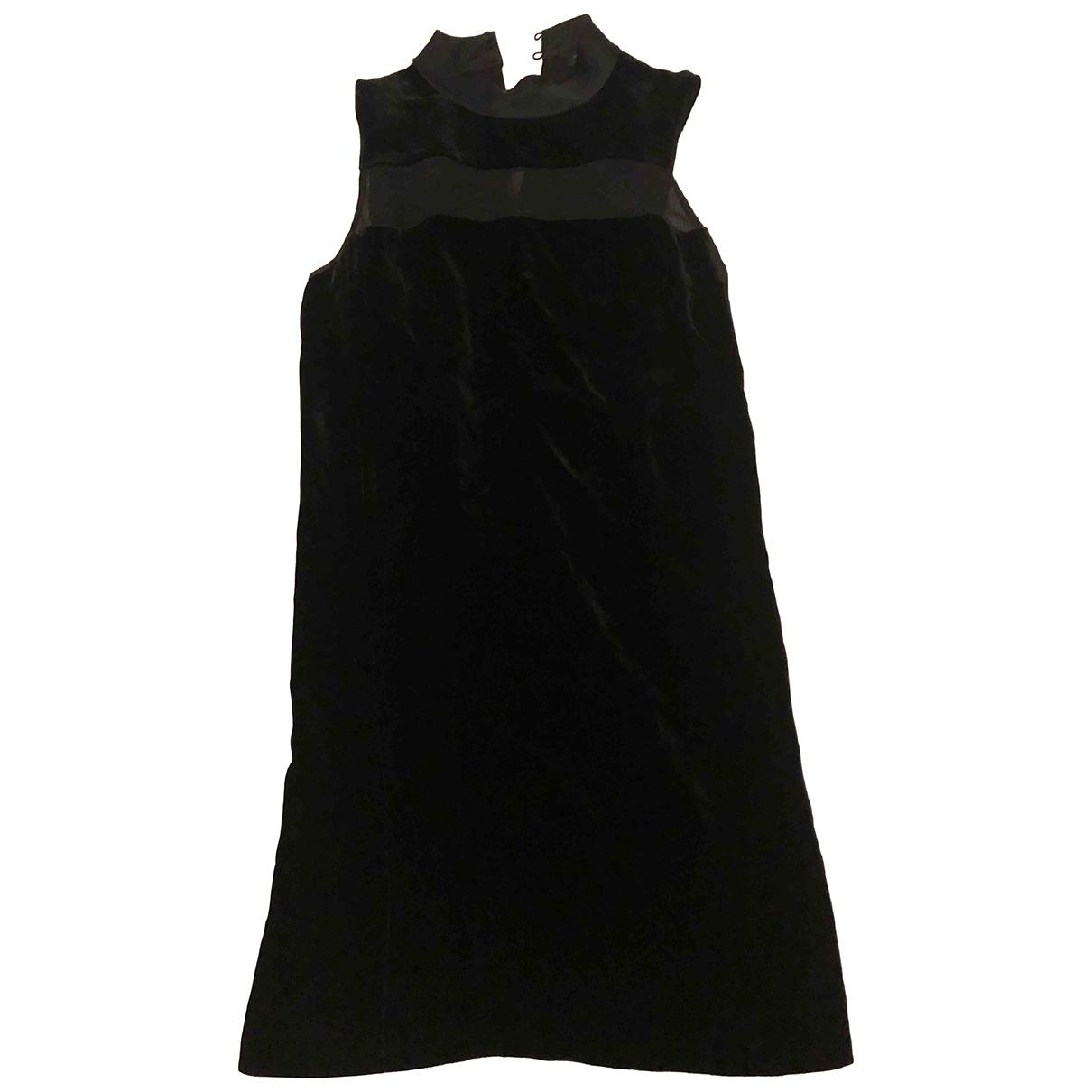 Rag & Bone \N Kleid in  Schwarz Samt