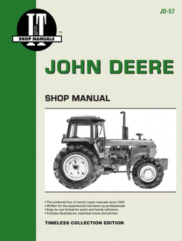 John Deere Model 4050-4850 Tractor Service Repair Manual