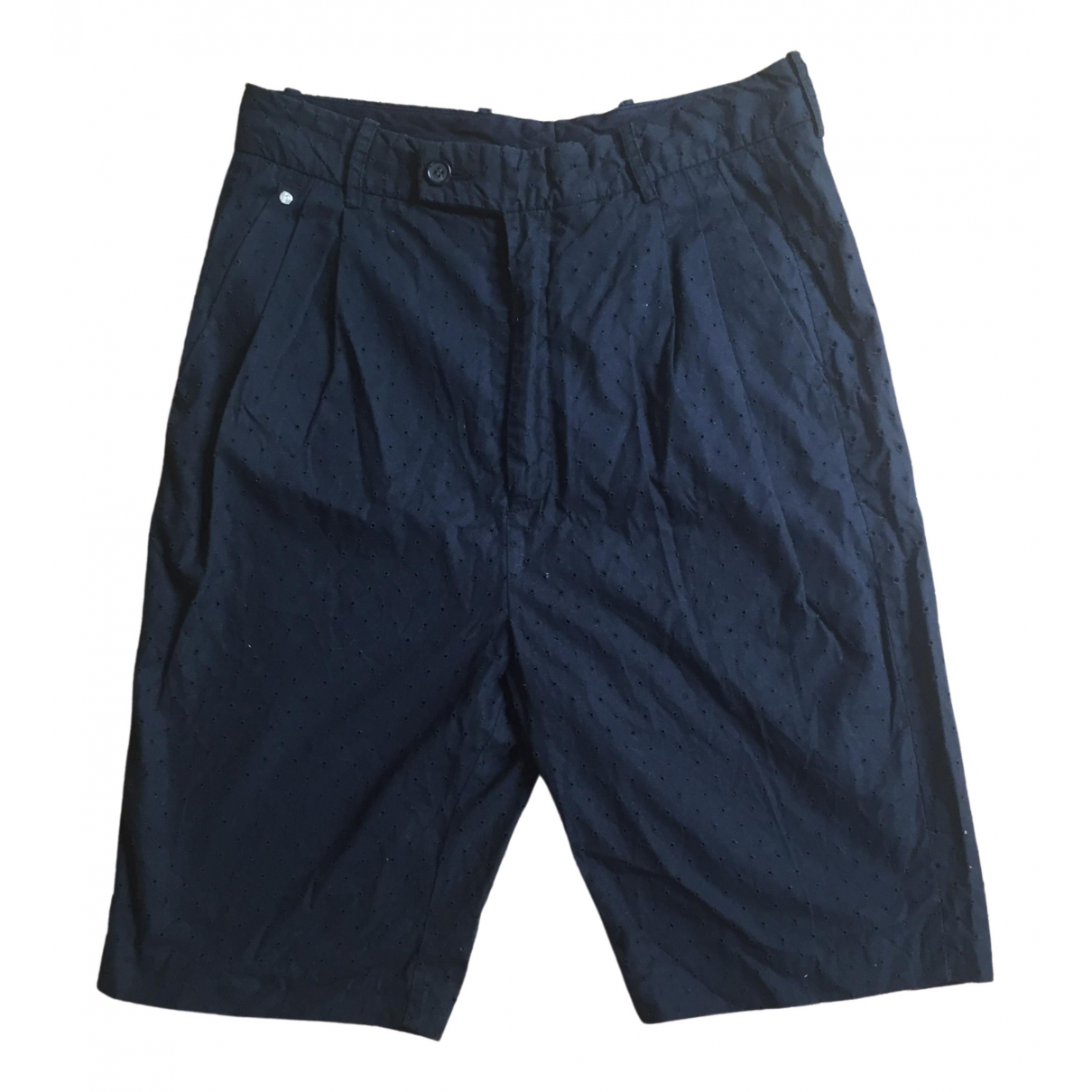 Bless \N Shorts in  Marine Baumwolle