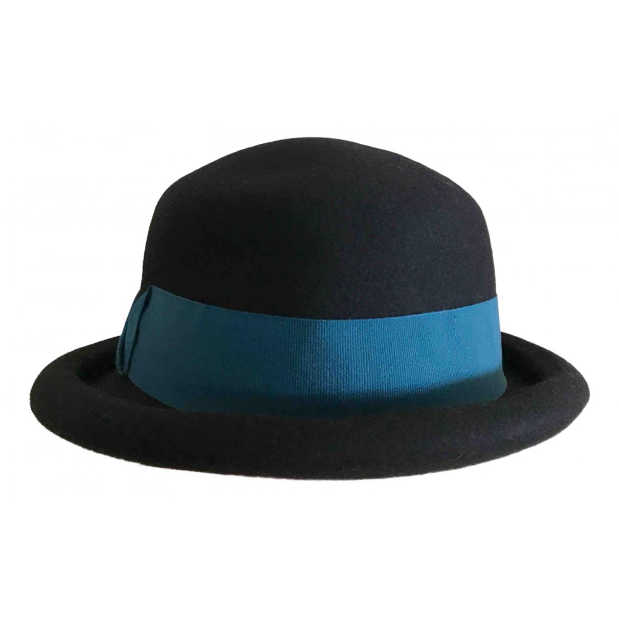 - Chapeau   pour femme en laine - bleu