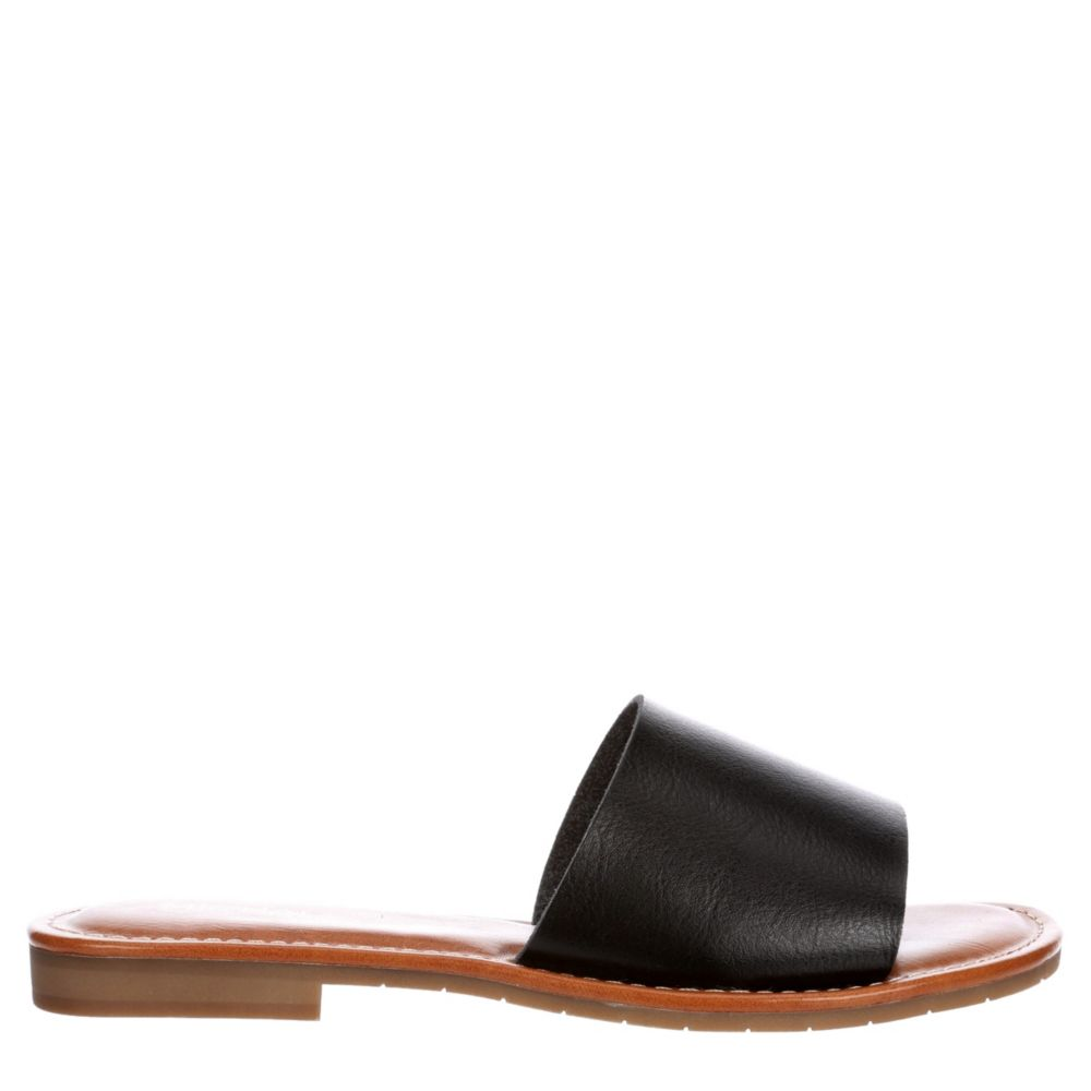 Michael By Shannon Womens Demi Sandal Flat Slide Sandal