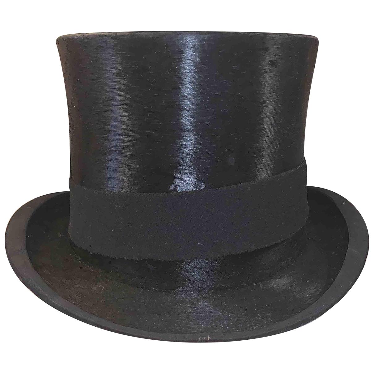 Christys - Chapeau & Bonnets   pour homme en soie - noir