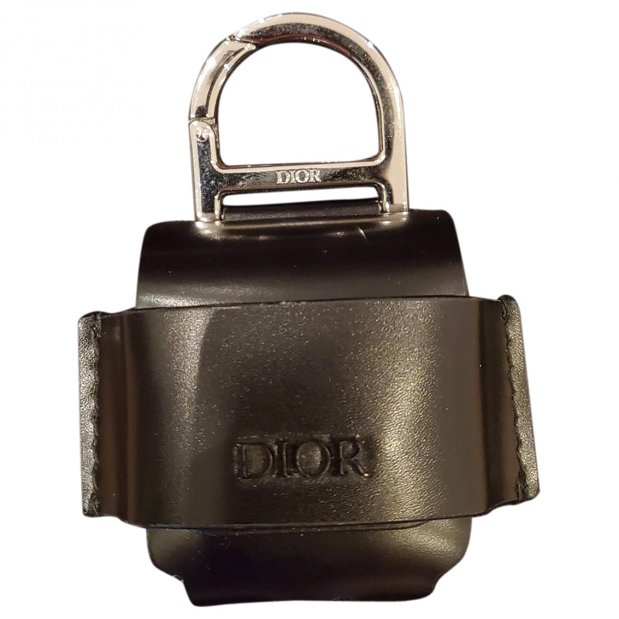 Dior - Accessoires   pour lifestyle en cuir - noir