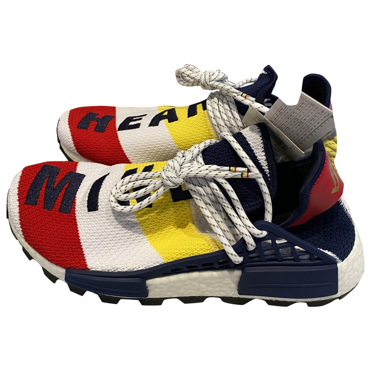 Adidas X Pharrell Williams - Baskets NMD Hu pour homme en toile - multicolore