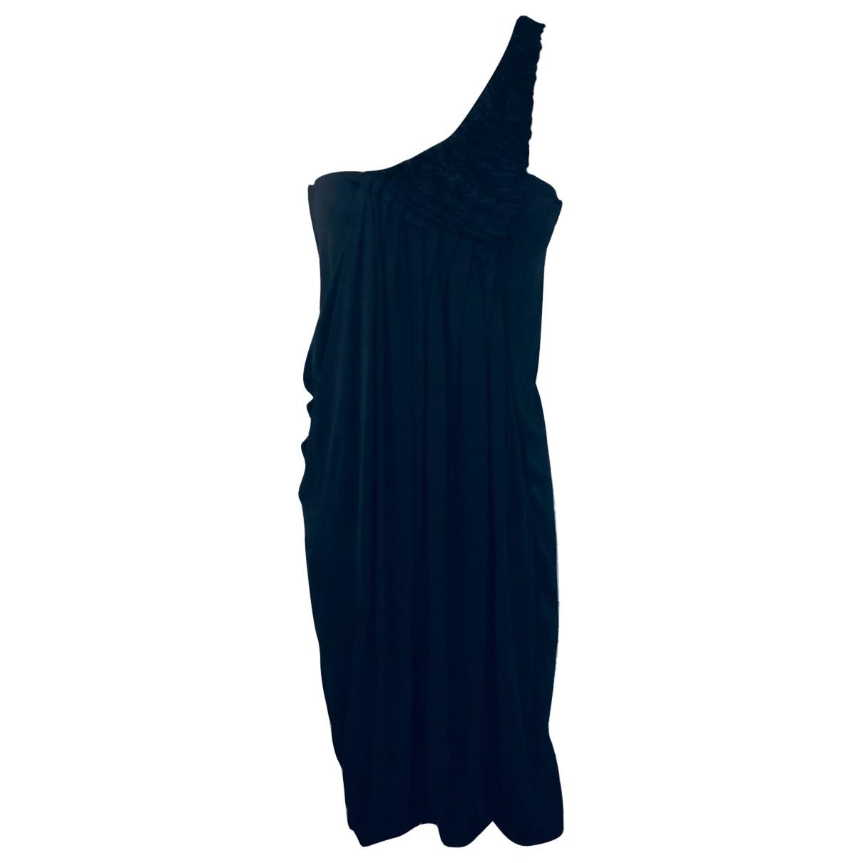 Yigal Azrouel \N Kleid in  Schwarz Viskose