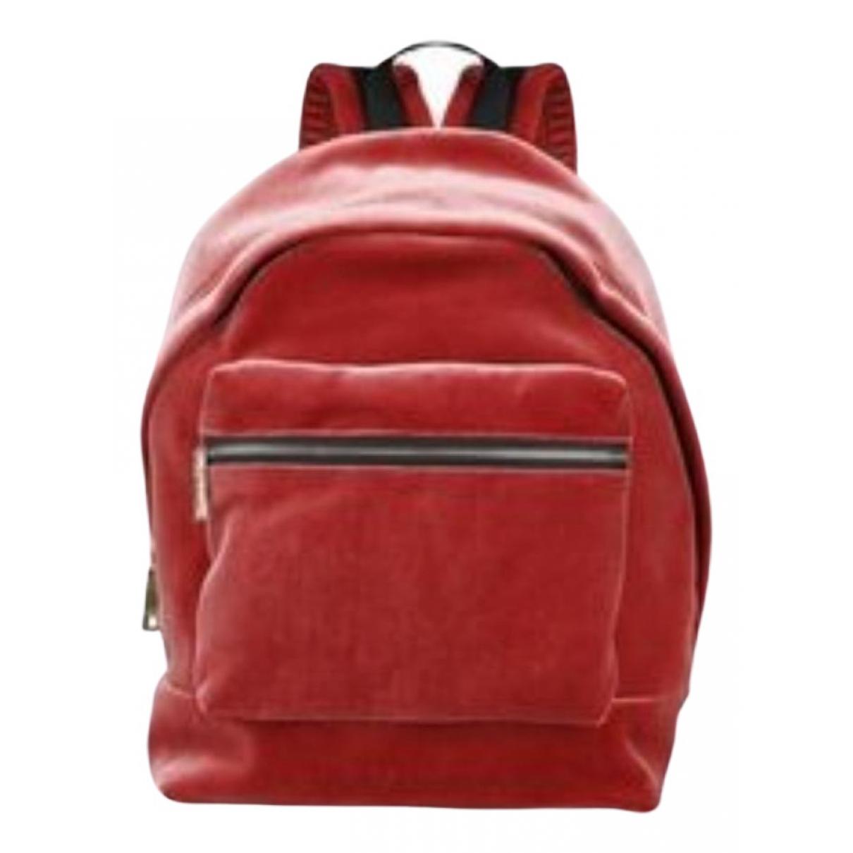 Sandro N Pink Velvet backpack for Women N