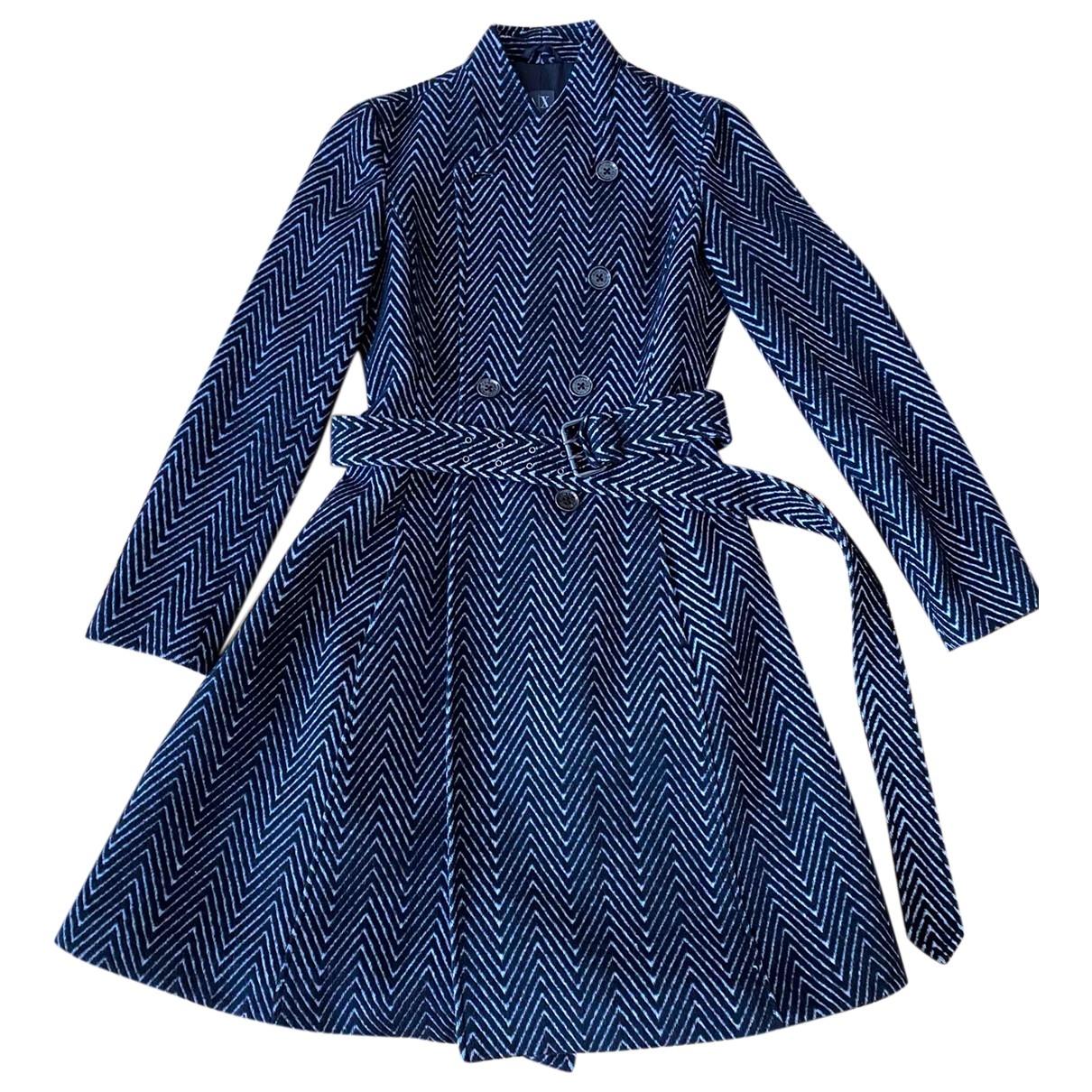 Emporio Armani \N Black coat for Women M International