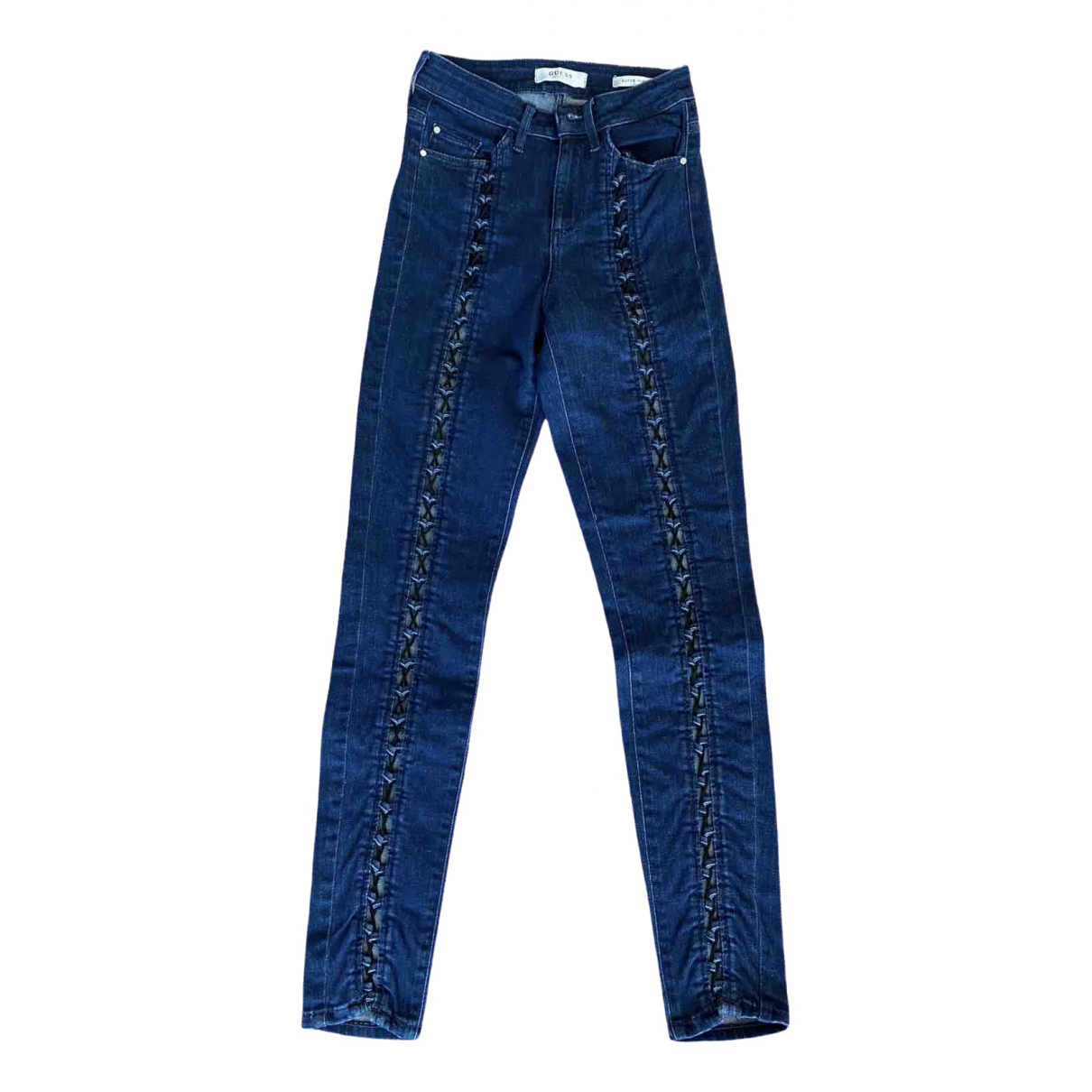 Guess \N Blue Cotton - elasthane Jeans for Women 25 US