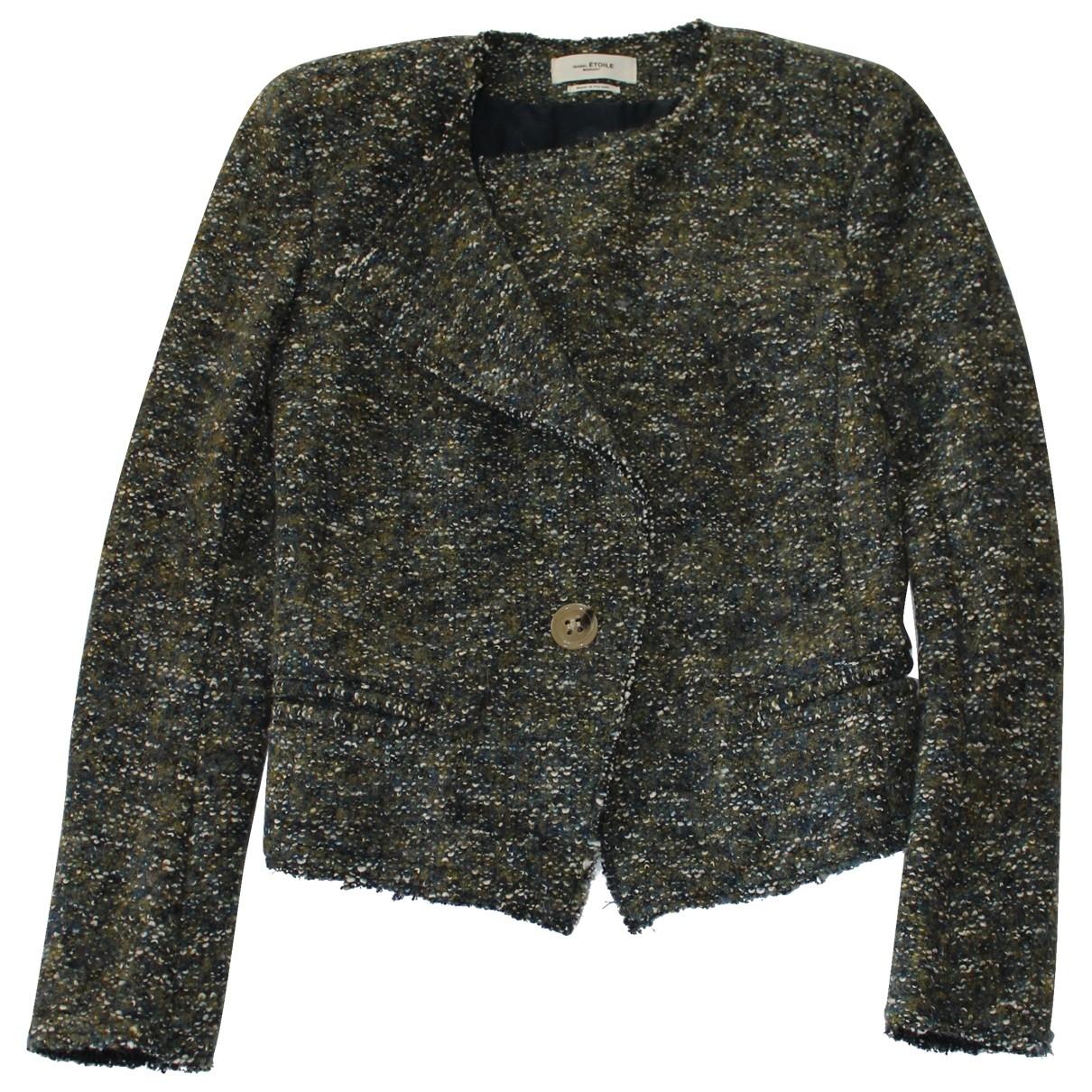 Isabel Marant Etoile \N Jacke in  Gruen Wolle