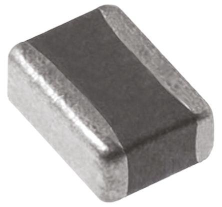 Murata , 0306 100nF Multilayer Ceramic Capacitor MLCC 10V dc ±20% , SMD LLL185R71A104MA01L (25)