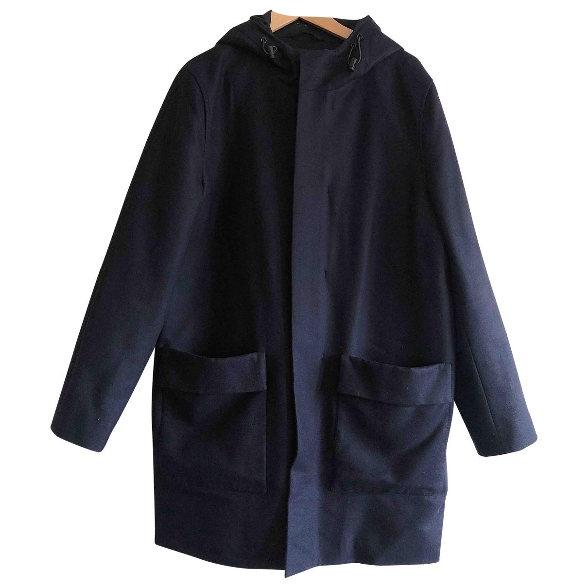 Cos \N Navy Wool coat  for Men M International