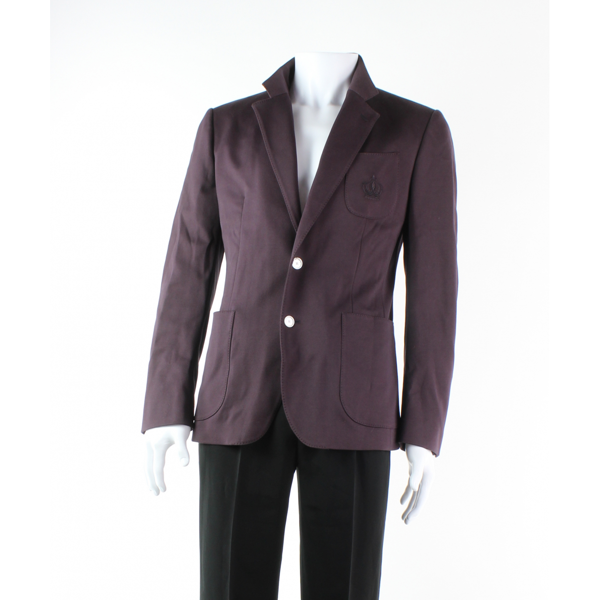 Dolce & Gabbana - Vestes.Blousons   pour homme en coton - violet
