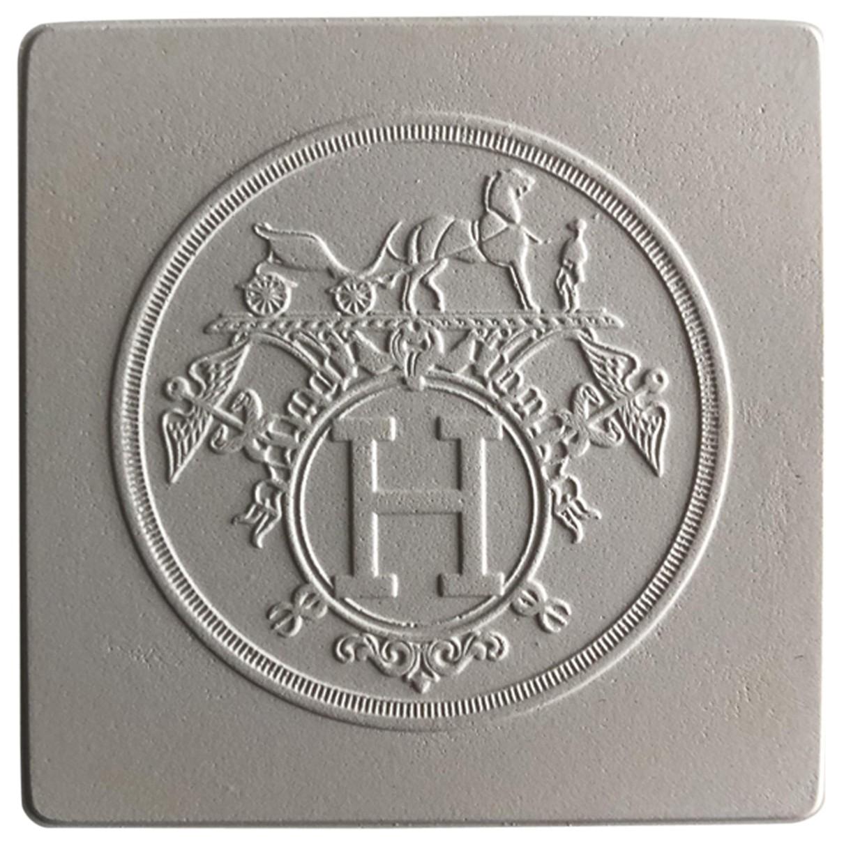 Hermes - Objets & Deco   pour lifestyle en ceramique - ecru