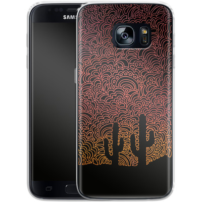Samsung Galaxy S7 Silikon Handyhuelle - Arizona von Kaitlyn Parker