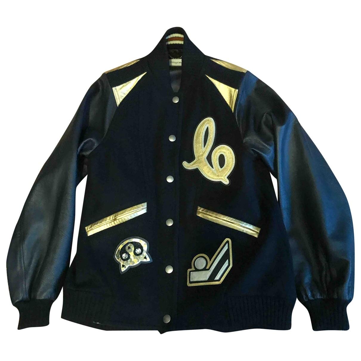 Coach \N Black Wool jacket for Women 4 0-5