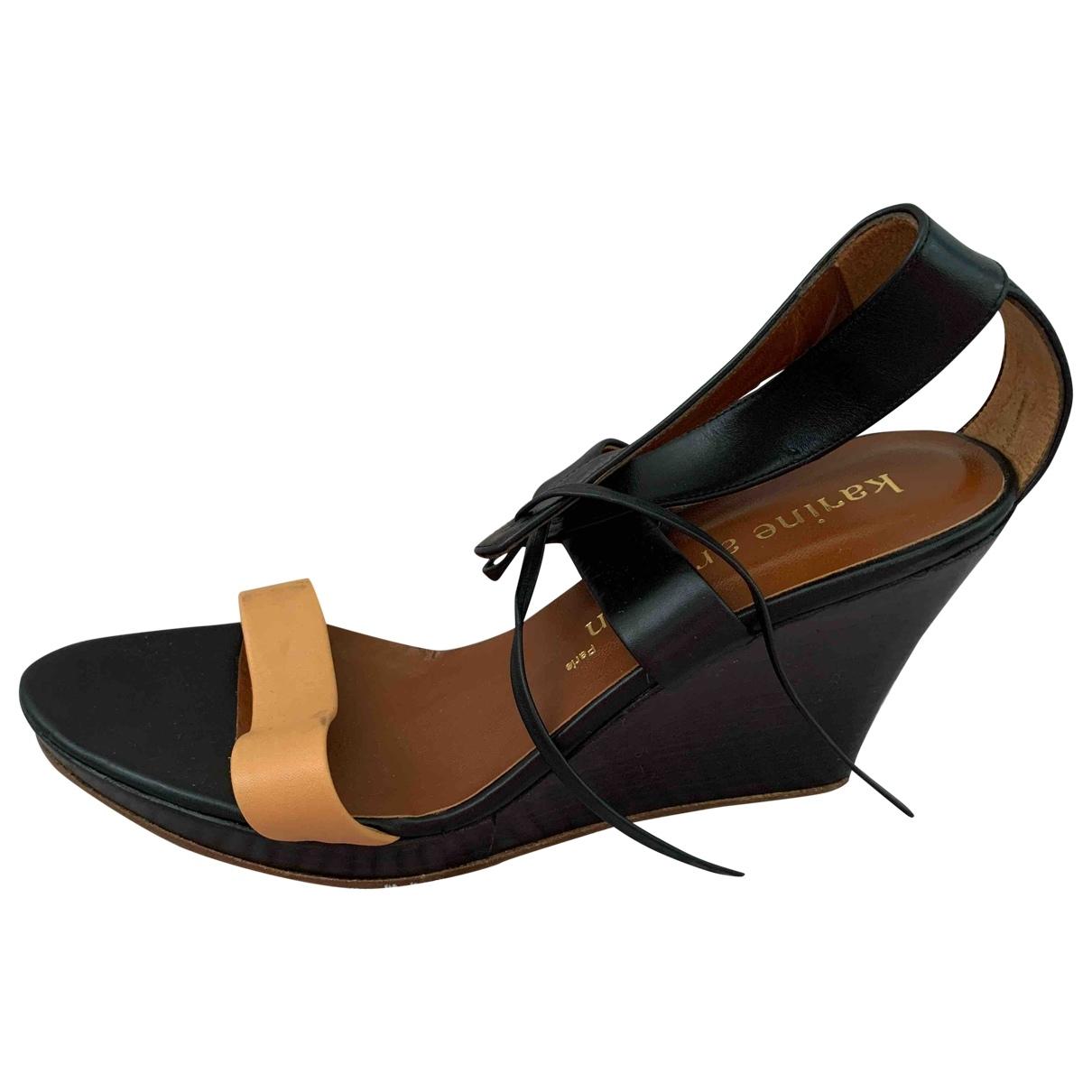Sandalias de Cuero Karine Arabian