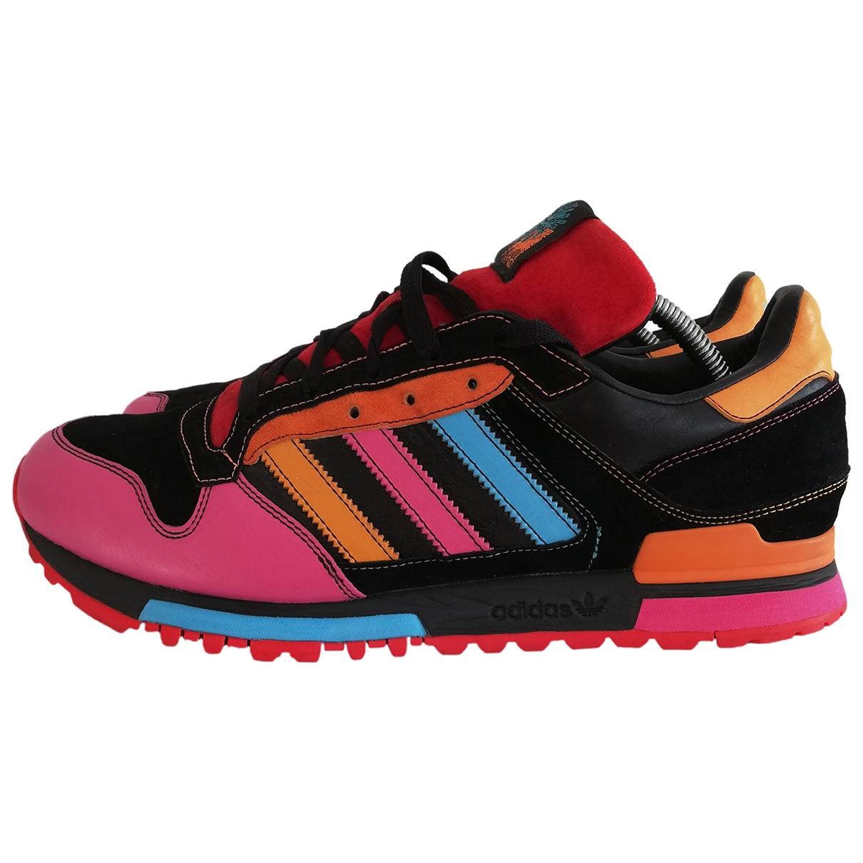 Adidas - Baskets ZX pour homme en cuir - multicolore